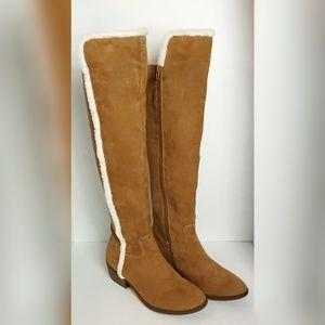 Mia Faux Fur Tall Boots
